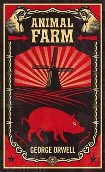 Animal Farm Orwell book blog